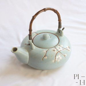 Blue and White cute teapot from stokes
